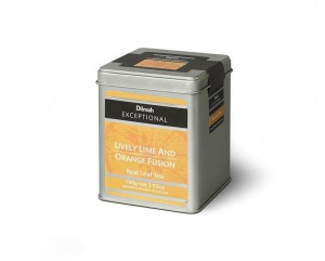 Dilmah Exceptional Lively Lime and Orange Fusion